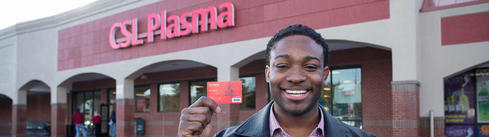 csl plasma reloadable debit card